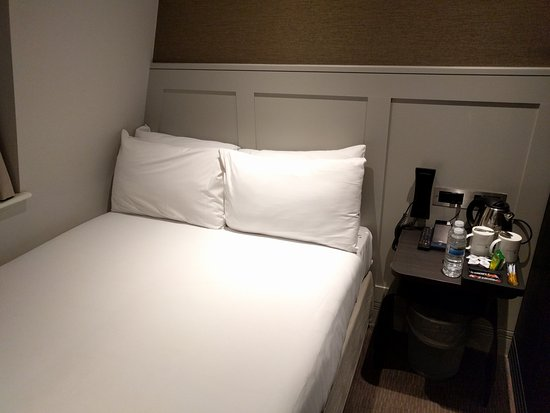 Very Small Bed And Room Picture Of Mowbray Court Hotel London Tripadvisor