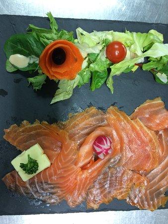 le Delta : Notre foie gras maison et notre saumon fumé maison