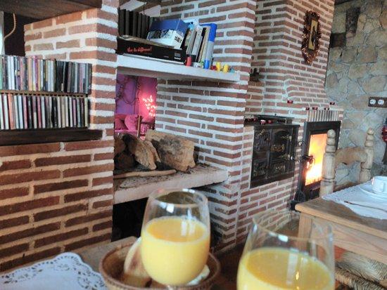 Centro de Turismo Rural  Abejaruco: desayuno