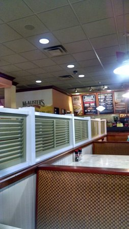 Mcalisters Deli: Interior Pigeon Forge