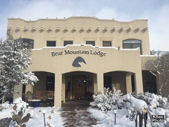 Bear Mountain Lodge: Snow on Christmas day