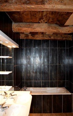 Lacrouzette, Fransa: Salle de bains