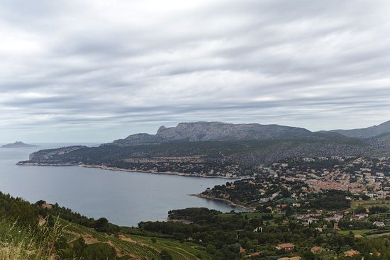 Provence, Frankrig: View of Cassis