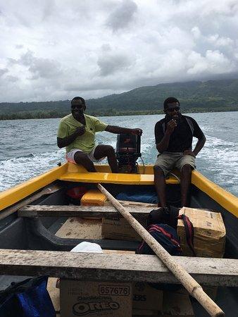 how to get to pele island vanuatu