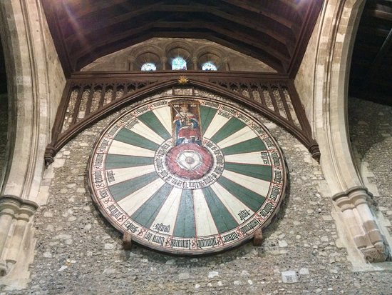 The Great Hall: The Replica Of King Arthuru0027s Round Table, Constructed By  Edward I