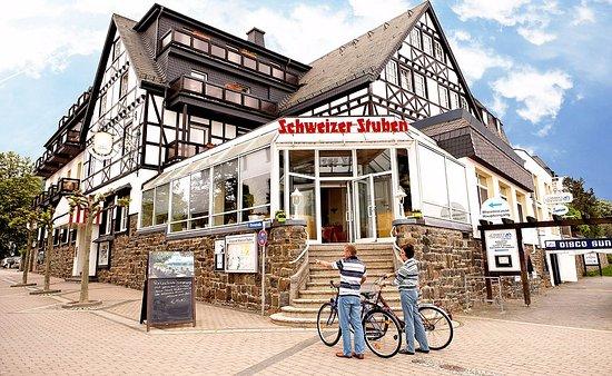 Bad Breisig, Γερμανία: Restaurant vom Hotel.