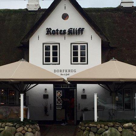 Dorfkrug Bar & Grill: Dorfkrug Kampen Eingang