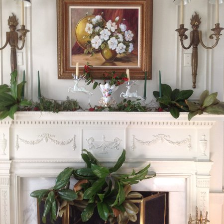 Anniston, Αλαμπάμα: Living Room mantel