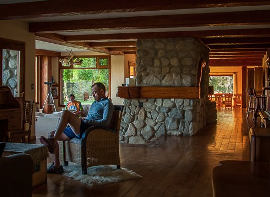Nahuel Huapi National Park, Argentina: Relaxing before dinner