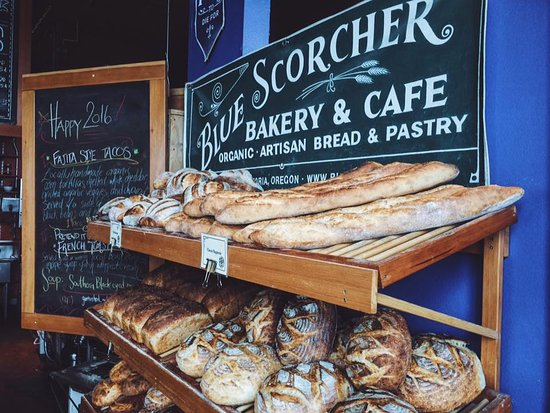 Blue Scorcher Bakery Cafe: Real bread.