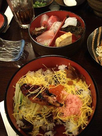 Yoshitsune Restaurant: Chirashi bowl