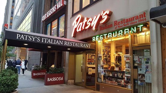 Patsy S In Midtown Manhattan Since 1954 Picture Of Italian Restaurant New York City Tripadvisor