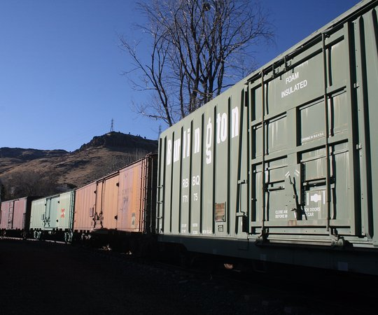 Colorado Railroad Museum: A variety of freight cars