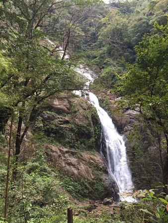 Catarata Bijagual : Vista de la catarata desde un mirador