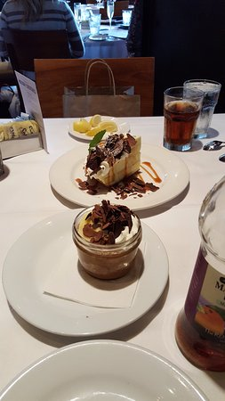 Emeril's New Orleans: Chocolate mousse trifle, Emeril's banana pie