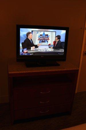 Hilton Garden Inn Tampa Airport Westshore: TV