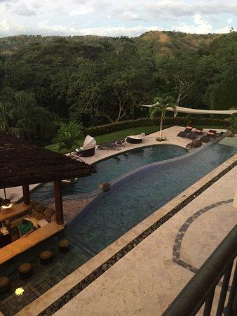 Villa Buena Onda: Photos taken outside our 2nd floor balcony