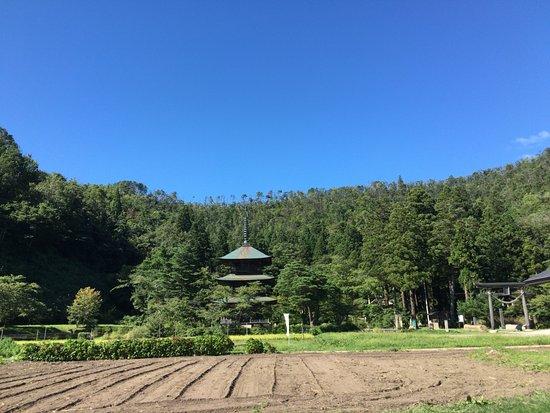 Takahata-machi, Japan: 全景。