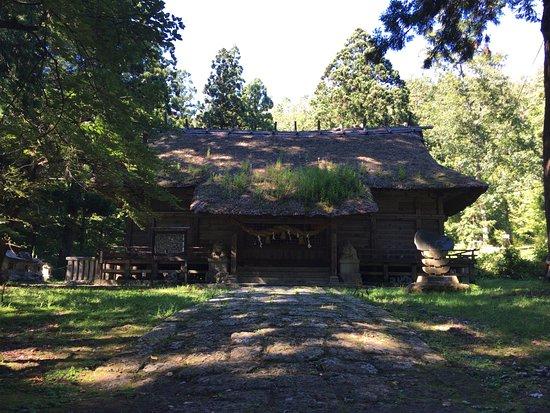 Takahata-machi, Japan: 奥の本堂。