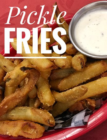 Norfolk, Небраска: Pickle fries and house made ranch