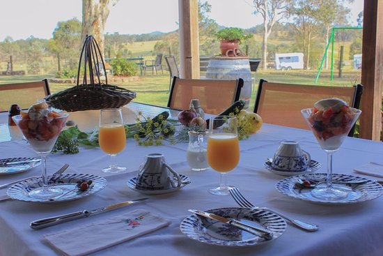 Windella, Australia: Just the start of an awesome breakfast, they were all incredible!