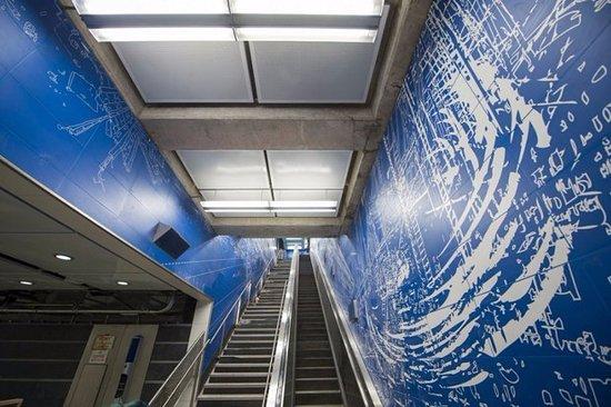 Sarah szes blueprint for a landscape picture of new york city new york city subway sarah szes blueprint for a landscape malvernweather Gallery