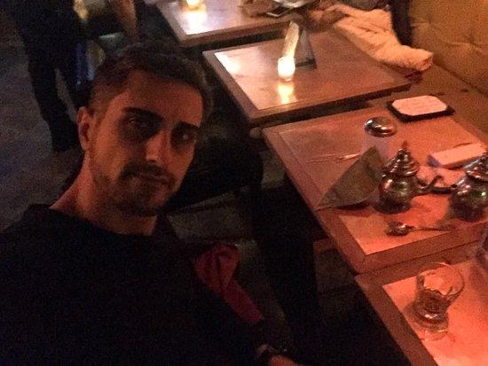 Photo of Moroccan Restaurant Horus Cafe at 93 Avenue B, New York City, NY 10009, United States