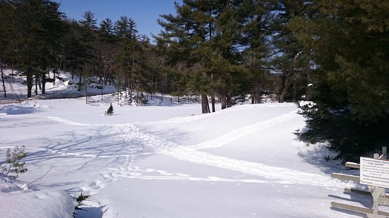 Madison, Nueva Hampshire: De frente para o hotel