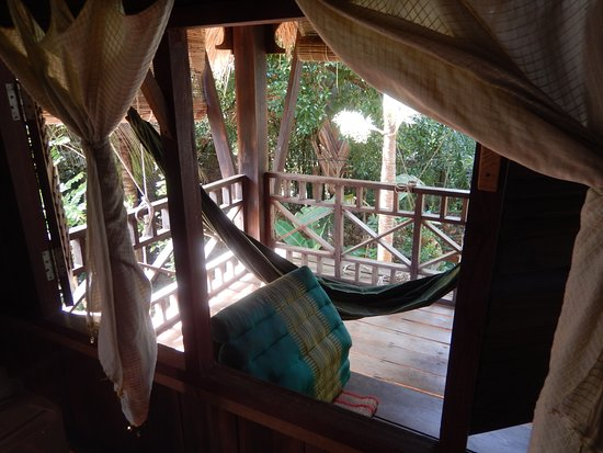 Le Bout du Monde - Khmer Lodge: The veranda