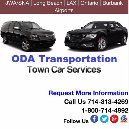 Oda Transportation Town Car Service