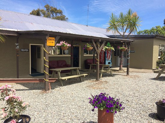 Beach Road Holiday Park Outside View Of Bathrooms Kitchen TV Room And Laundry