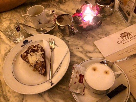 Restaurant & Grand Café Coselpalais: 맛있는 디저트