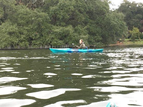 Kayakitiyat Kayak Tours of New Orleans: The island on St. John Bayou
