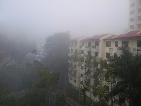 Genting View Resort: View from the balcony