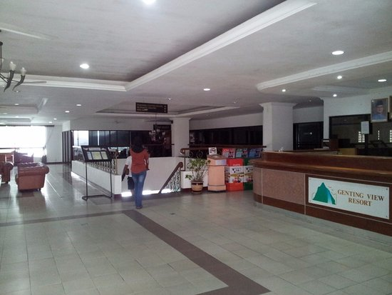 Genting View Resort: The lobby