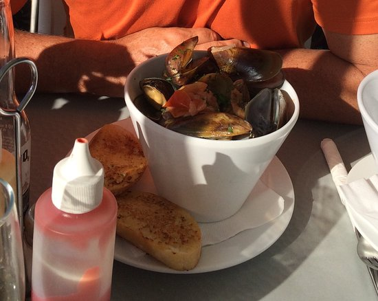 Maketu, New Zealand: Yummy Greenlipped mussels