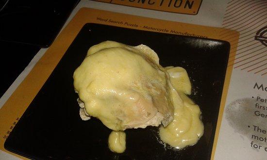 the junction eggs benedict