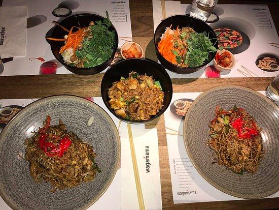 Mount Wellington, Nowa Zelandia: Disappointing dinner at Wagamama