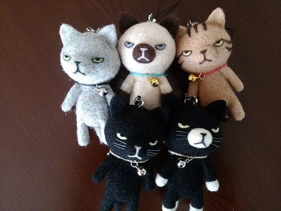 Kaminoyama, Japón: ブサ猫ストラップ