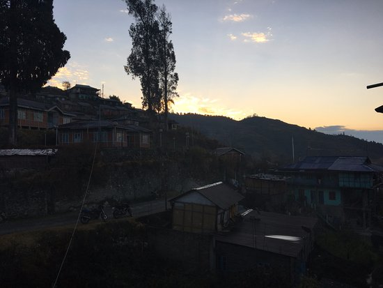 Bomdila, India: sunrise view