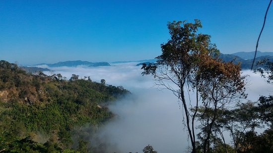 Bandarban, Бангладеш: Keokradong hill view