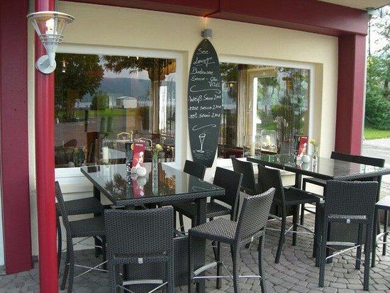 Bodman-Ludwigshafen, Deutschland: Terrasse Eingangsbereich
