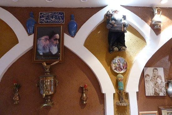 Abyaneh, Иран: Kunst, Kitsch oder was?