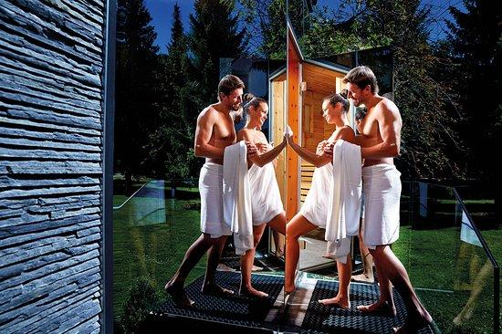 Sauna Im Freien sauna im freien - picture of hotel gaspingerhof ****superior, gerlos
