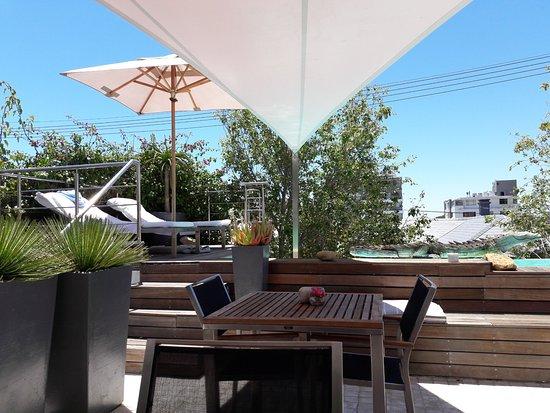Dysart Boutique Hotel: wunderschöne Terrasse