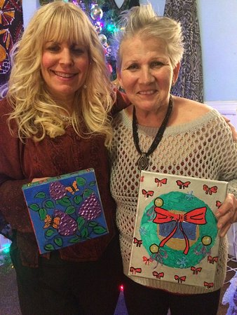 Victor, NY: 2016 Coloring on Canvas Holiday Evening Soirée