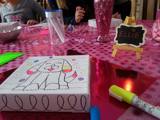 Victor, NY: Our Glitter Kid's Party Celebration -Happy Birthday Ellie