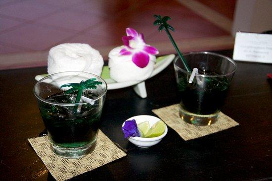 Lipa Noi, Tailandia: Welcome Tea