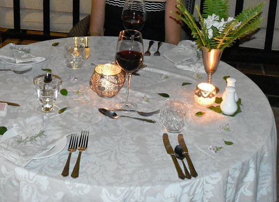 Plumbago Guest House: Extraordinary dinner experience