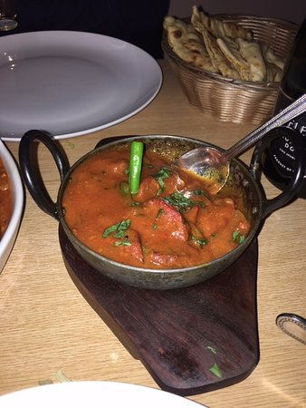 Indian Express. West Kensington: Lamb Tawa